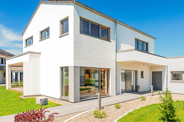 Haus bauen mit Binder in Aiterhofen