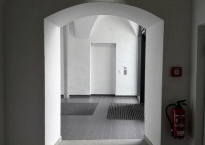 Renovierung eines Eingangbereiches mit Binder